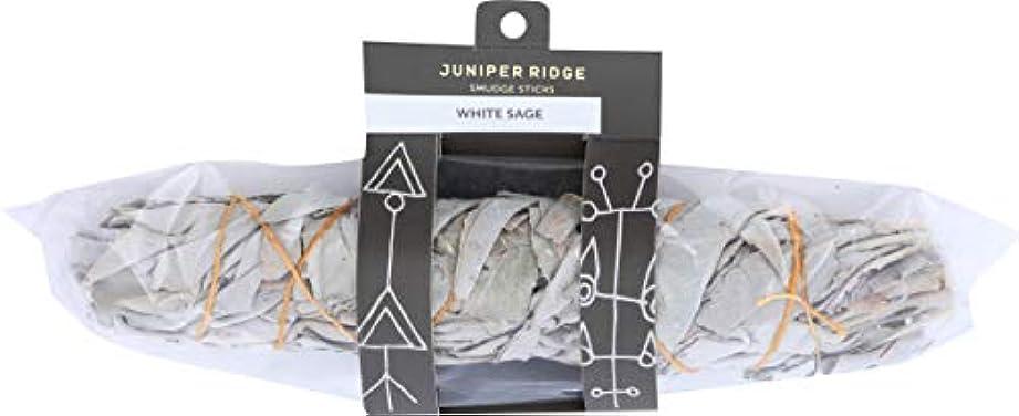 はず透過性製造1カリフォルニアホワイトセージEX LARGEしみ、Juniper Ridge Wild Harvested Smudge