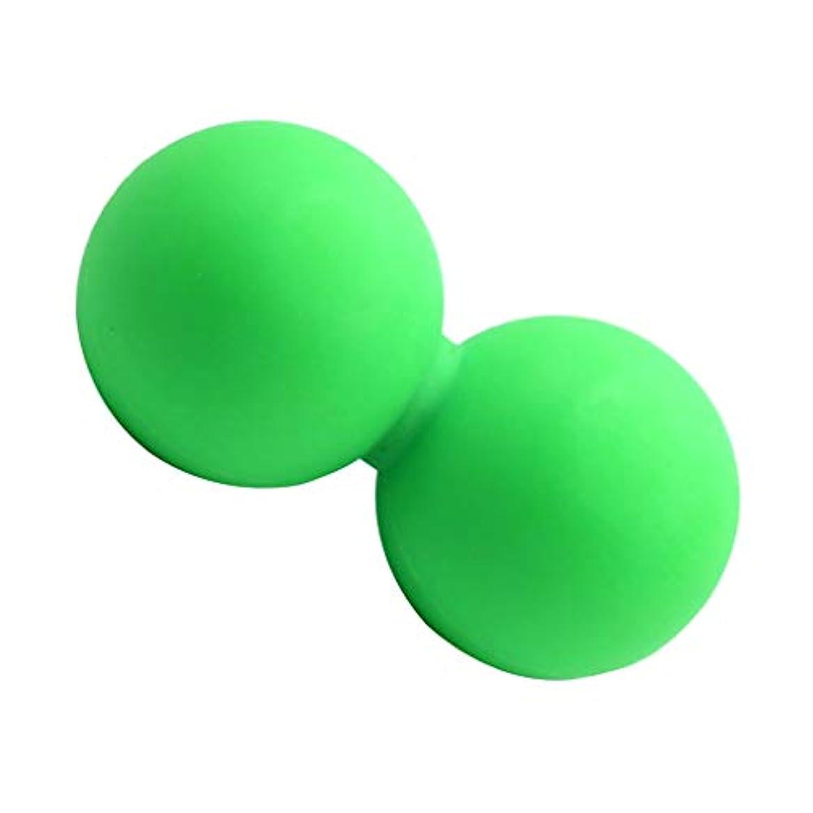 免除する毎週円形のD DOLITY マッサージボール 手のひら 足 足首 腕 首 背中用 スポーツ ヨガ グリーン