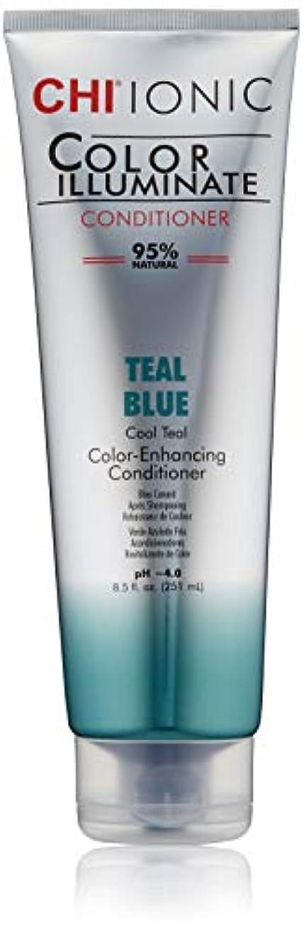 浜辺コーヒーコーヒーIonic Color Illuminate - Teal Blue Conditioner