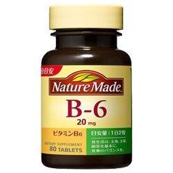ネイチャーメイド B-6 80粒