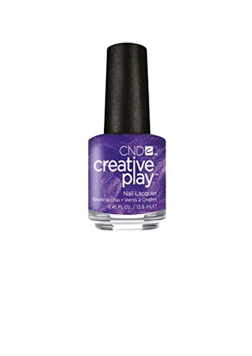 連鎖なんでも知覚的CND Creative Play Lacquer - Cue the Violets - 0.46oz / 13.6ml