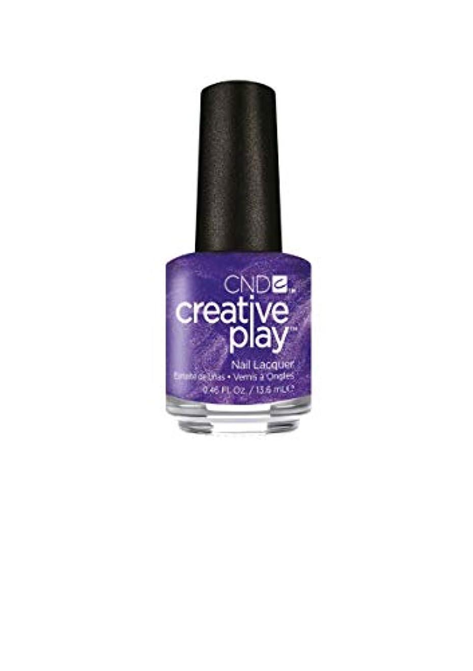 報復する繊細いっぱいCND Creative Play Lacquer - Cue the Violets - 0.46oz / 13.6ml