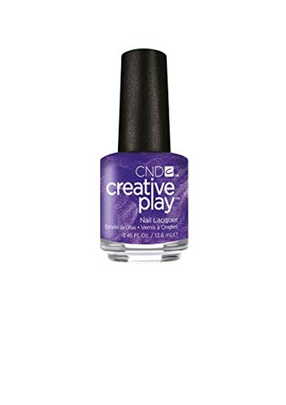 担当者騙す物理学者CND Creative Play Lacquer - Cue the Violets - 0.46oz / 13.6ml