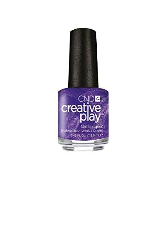 眠いです連鎖プラスチックCND Creative Play Lacquer - Cue the Violets - 0.46oz / 13.6ml