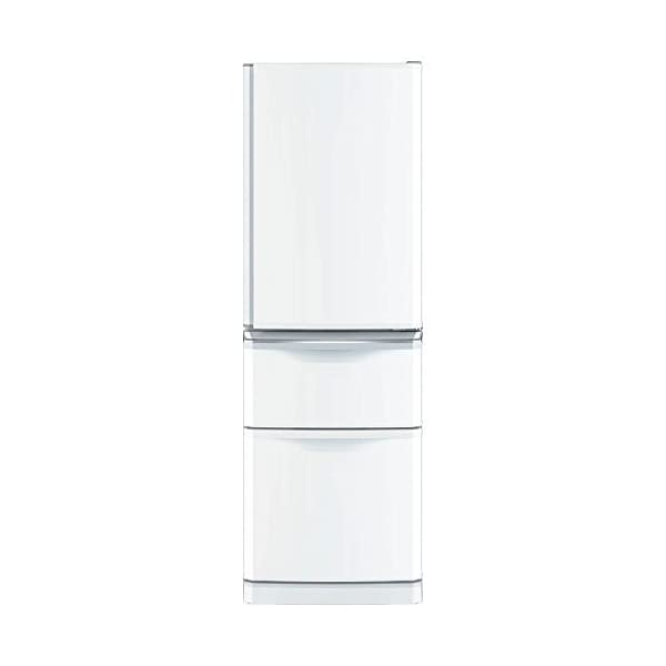 三菱 冷蔵庫 スリムタイプ 右開き 370L パ...の商品画像