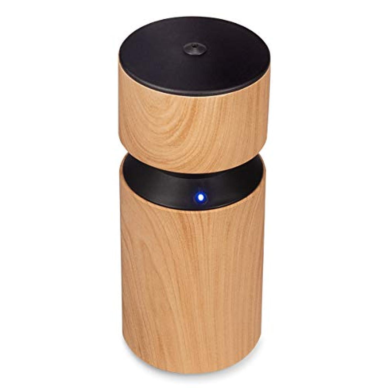 流行しているポジティブ委任するアロマディフューザー 車内や家庭で使用 ネブライザー式 アロマライト 充電式で静か アロマバーナー 068W