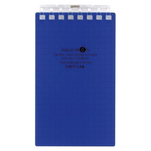 リヒトラブ ツイストリング・メモ A7 藍 N-1661-11 00005212