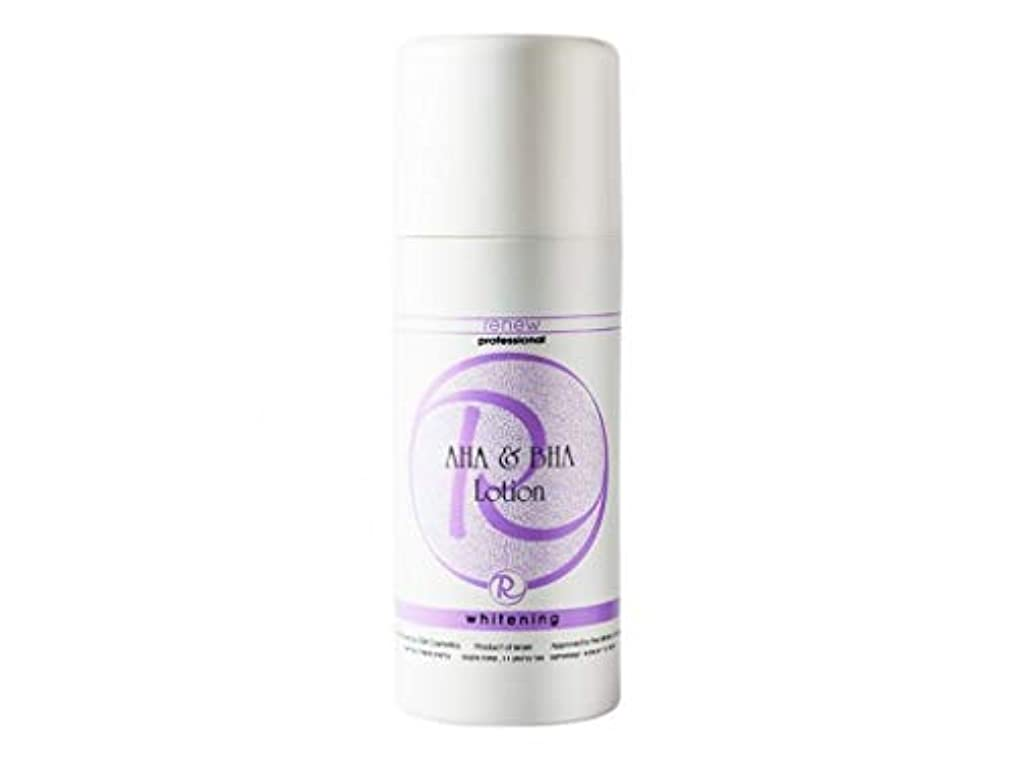 休憩カートリッジ童謡Renew Whitening AHA & BHA Lotion 250ml