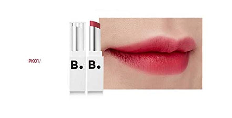 ドライ実験的経度banilaco リップドローマットブラストリップスティック/Lip Draw Matte Blast Lipstick 4.2g #MPK01 kichi pink [並行輸入品]