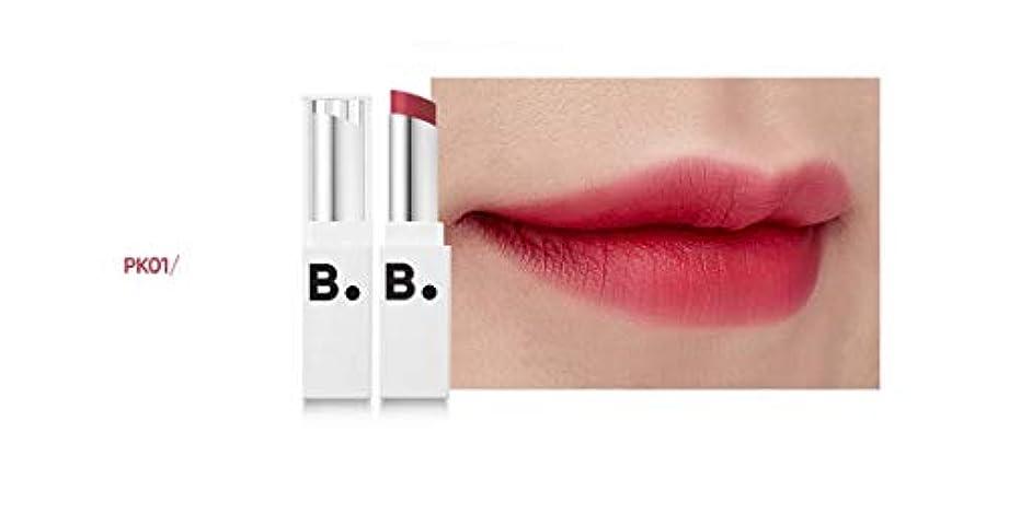 ペニー動かす隣接するbanilaco リップドローマットブラストリップスティック/Lip Draw Matte Blast Lipstick 4.2g #MPK01 kichi pink [並行輸入品]