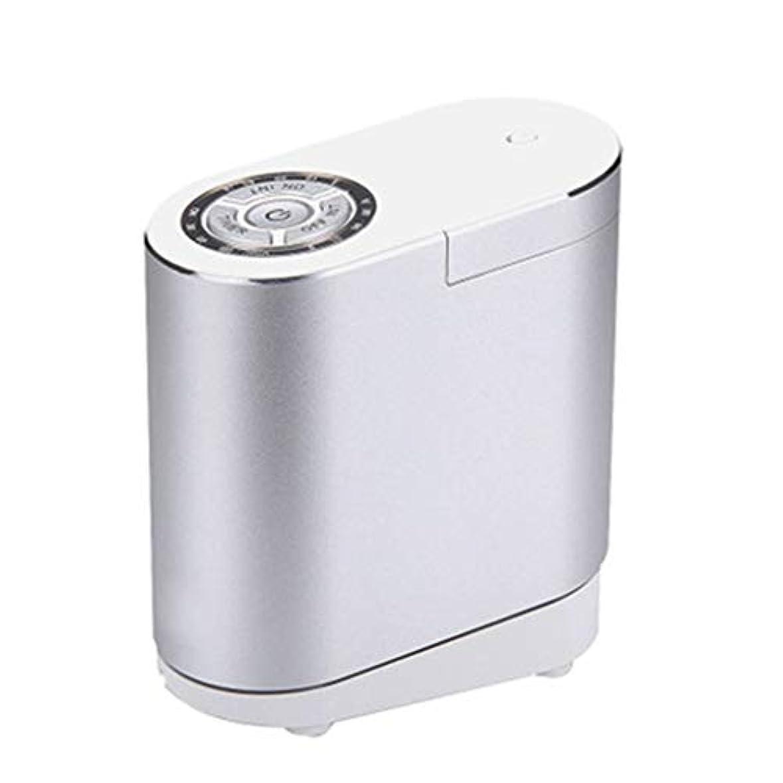 メンダシティくま理容師クールミスト空気加湿器、30ミリリットルディフューザーエアコン、4Sショップのリビングルームの研究寝室のオフィスに適して (Color : Silver)