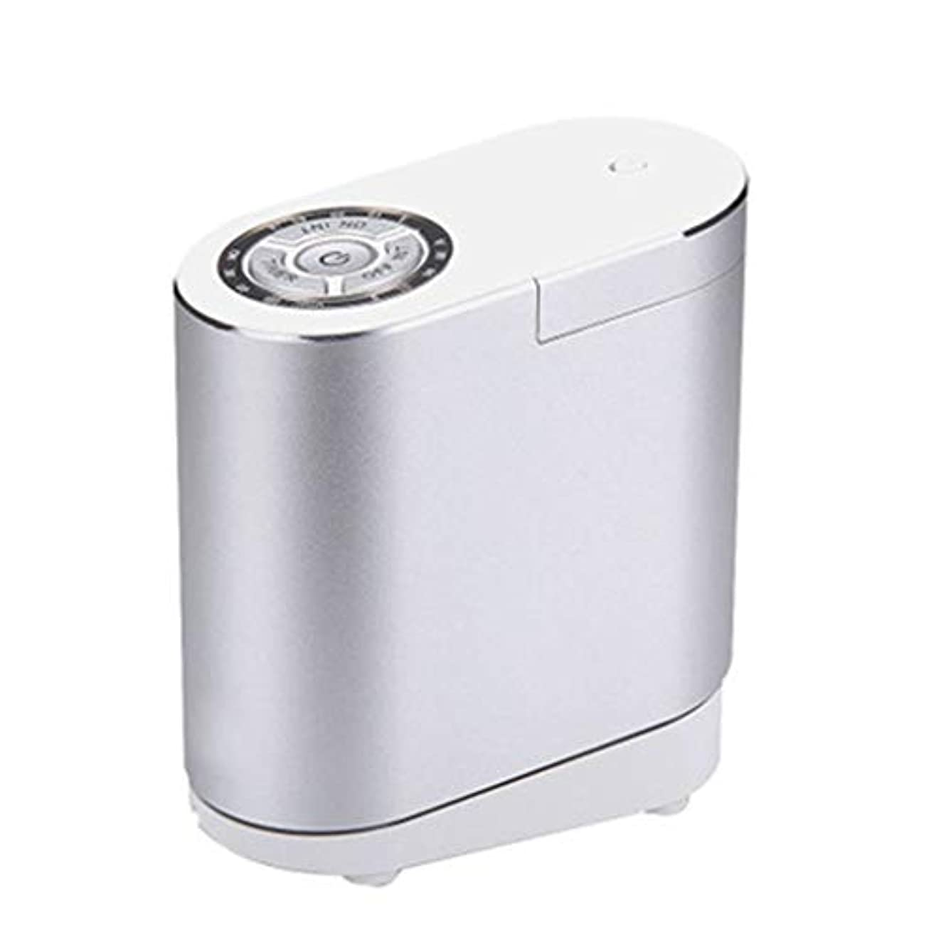ビジネス引き算反乱クールミスト空気加湿器、30ミリリットルディフューザーエアコン、4Sショップのリビングルームの研究寝室のオフィスに適して (Color : Silver)