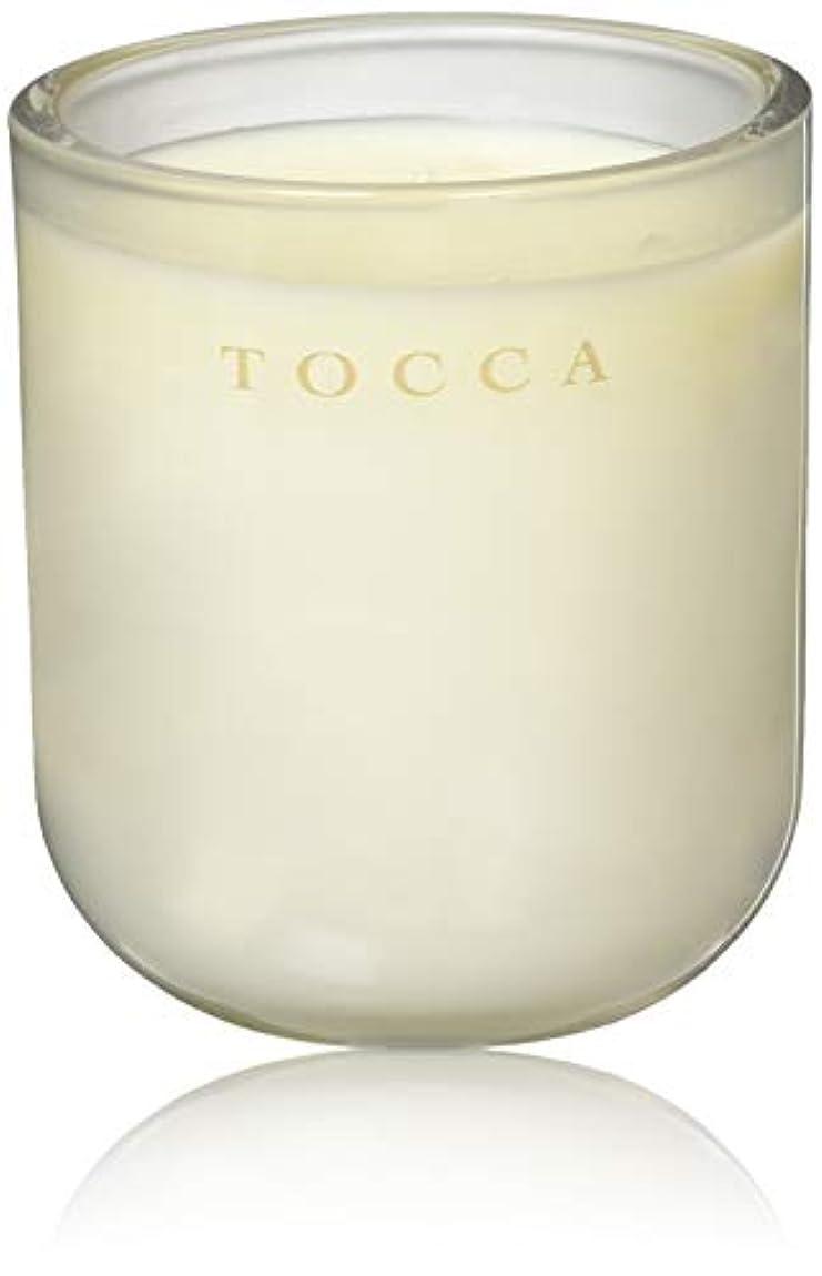 暗い木長方形TOCCA(トッカ) ボヤージュ キャンドル モントーク 287g (ろうそく 芳香 キューカンバーの爽やかな香り)