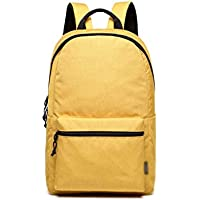 XHHWZB Children's Backpack Solid Color Lightweight Backpack Simple Student Bag Waterproof Large Capacity Travel Backpack