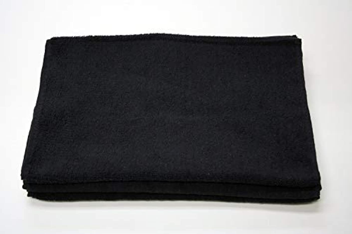 テレックス腐敗したフライカイトスーパータオル New ブリーチフリー 210匁 【1枚】(ブラック)