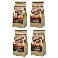 【ハワイアンホスト】【ハワイお土産】チョコマカダミアナッツクッキーBAG3oz:85g(約25枚程度) (85g×【4袋】)