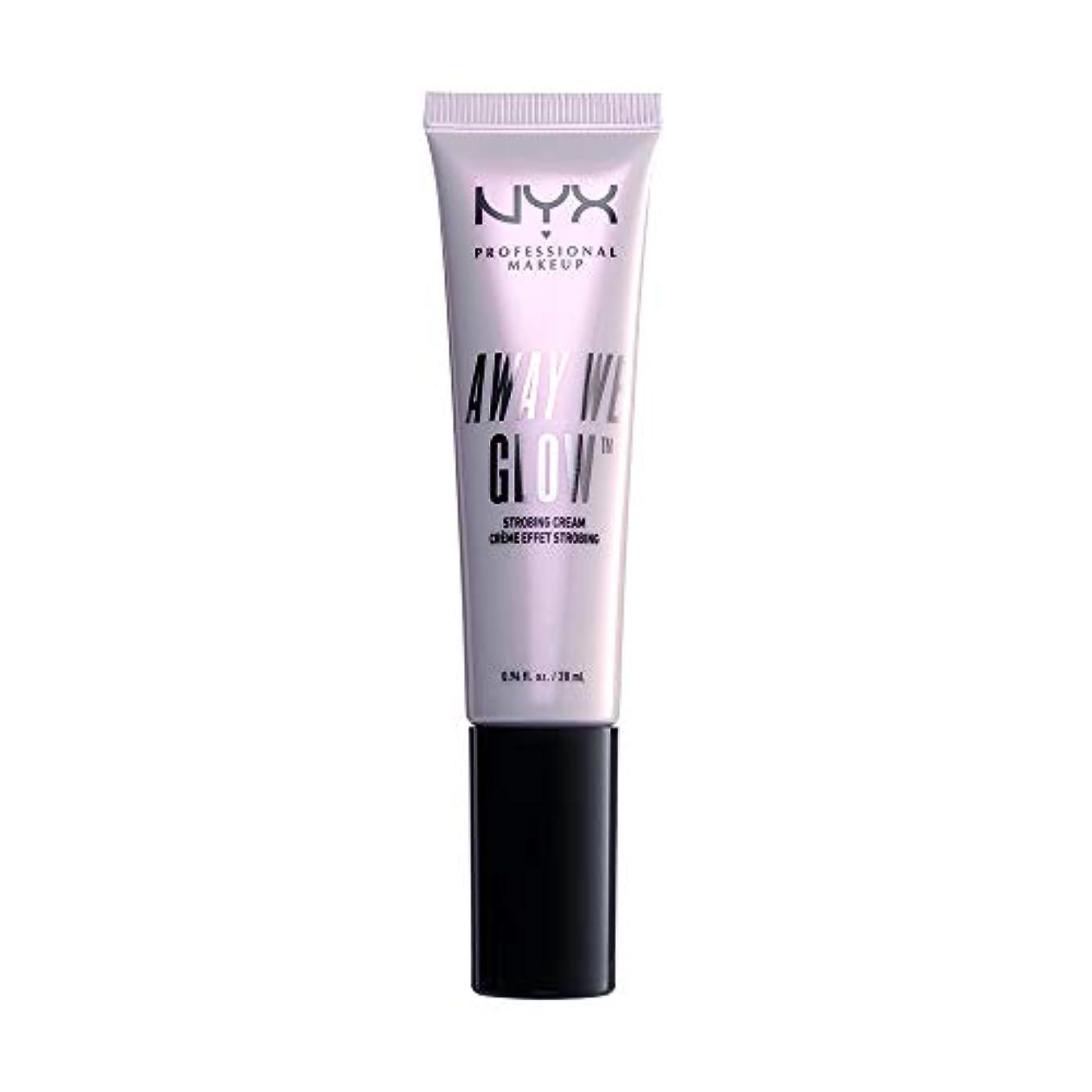 コンドーム作動する見落とすNYX(ニックス) アウェイ ウィー グロー ストロビングクリームA 02 カラー グローティーニ