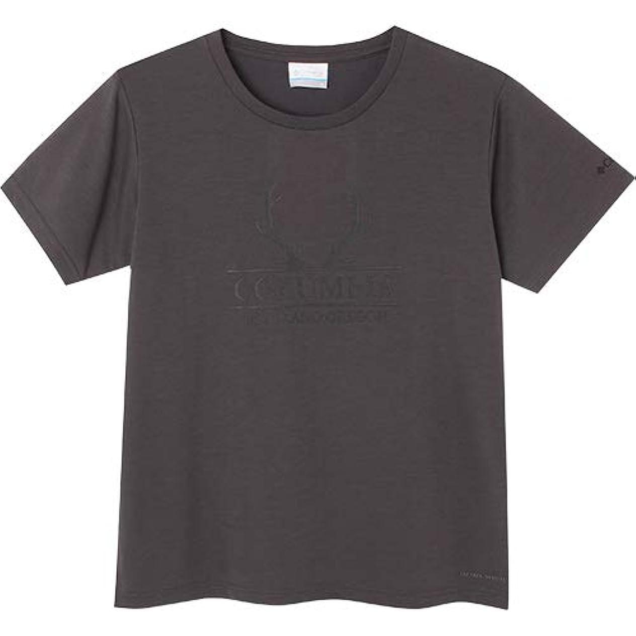 デンプシー手段南[コロンビア] レディース ハリソンスプリングスショートスリーブTシャツ Harrison Springs Women's Short Sleeve Tee シャーク PL3122 011
