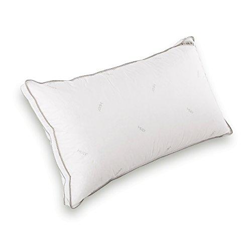 オーダーメイドのような枕 【MLILY エムリリー】 高さ調節ピロー 低反発&羽毛の二層構造まくら 70cm×40cm