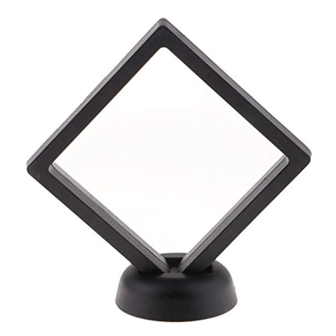 範囲以来そしてネイルアートディスプレイ ネイルチップフレーム サロン マニキュアツールスタンド 2色選べ - ブラック