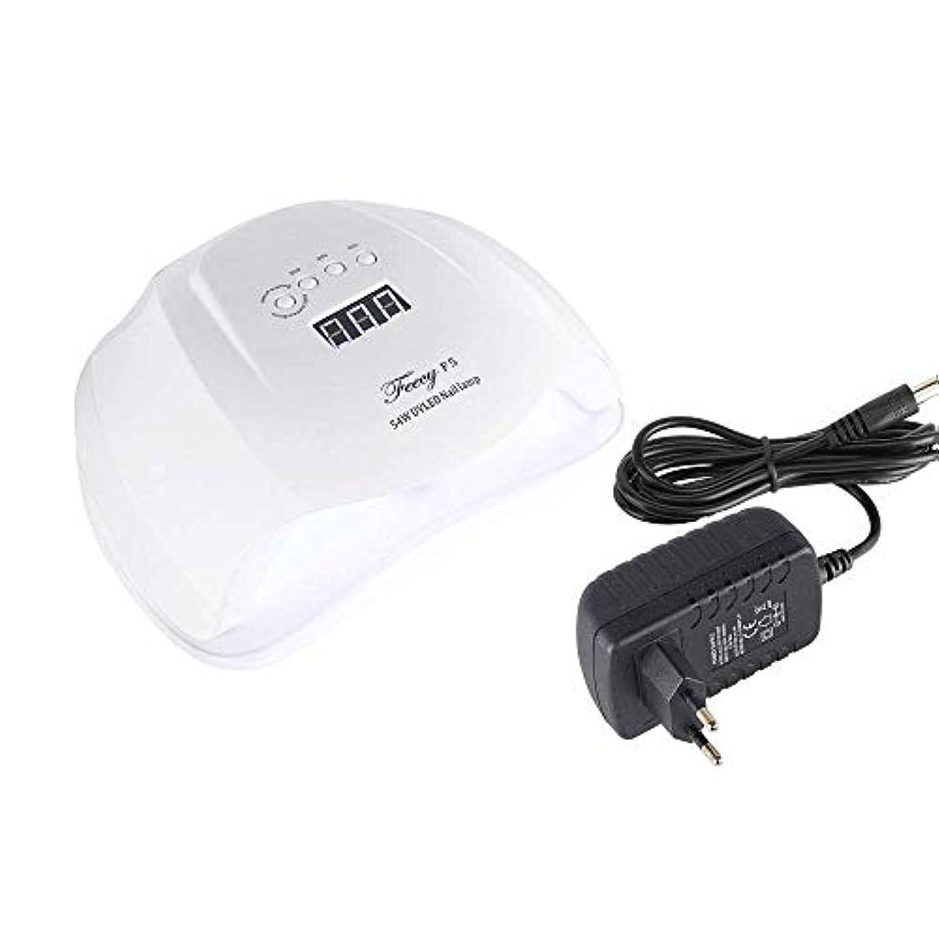 性別ラボリークネイルドライヤーF5 UVランプ54W 36 LEDランプネイルSUN5X UV LEDネイルランプジェルポリッシュマニキュア乾燥ネイルデュアルアイスランプジェルポリッシュマニキュア