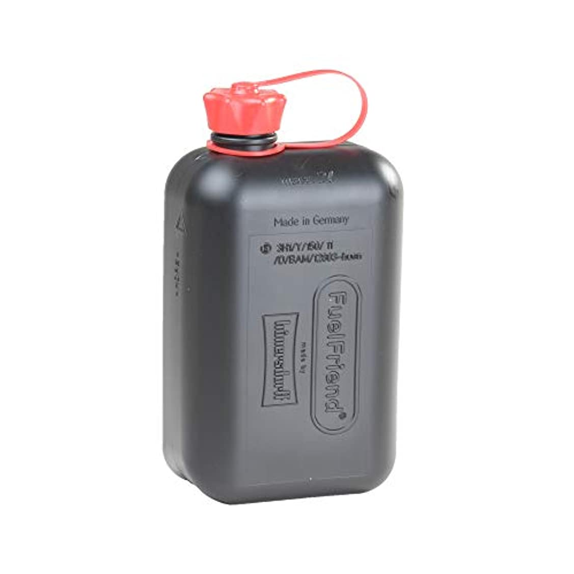 明るい含めるレバーヒューナースドルフ Hunersdorff 燃料タンク [ 安心の正規品 保証&ステッカー付 ]ポリタンク フューエルカンフレンド 2L ウォータータンク 燃料 ホワイトガソリン 灯油 タンク キャニスター キャンプ (black)