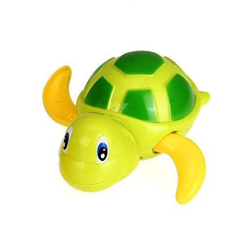 Baby Bathing Bath Swimming Tub Pool Toy Cute Wind Up Turtle Animal Bath Toys Set for 3-12 Years Old Kids Boys Girls(3 PCS,3 Color)