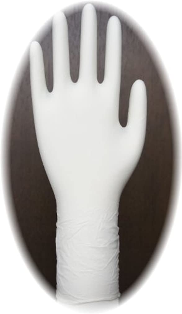鉄道ワーム劇的三高サプライ ニトリル手袋 クラス100 クリアグリップ ロング(半透明) GN09 100枚入り M