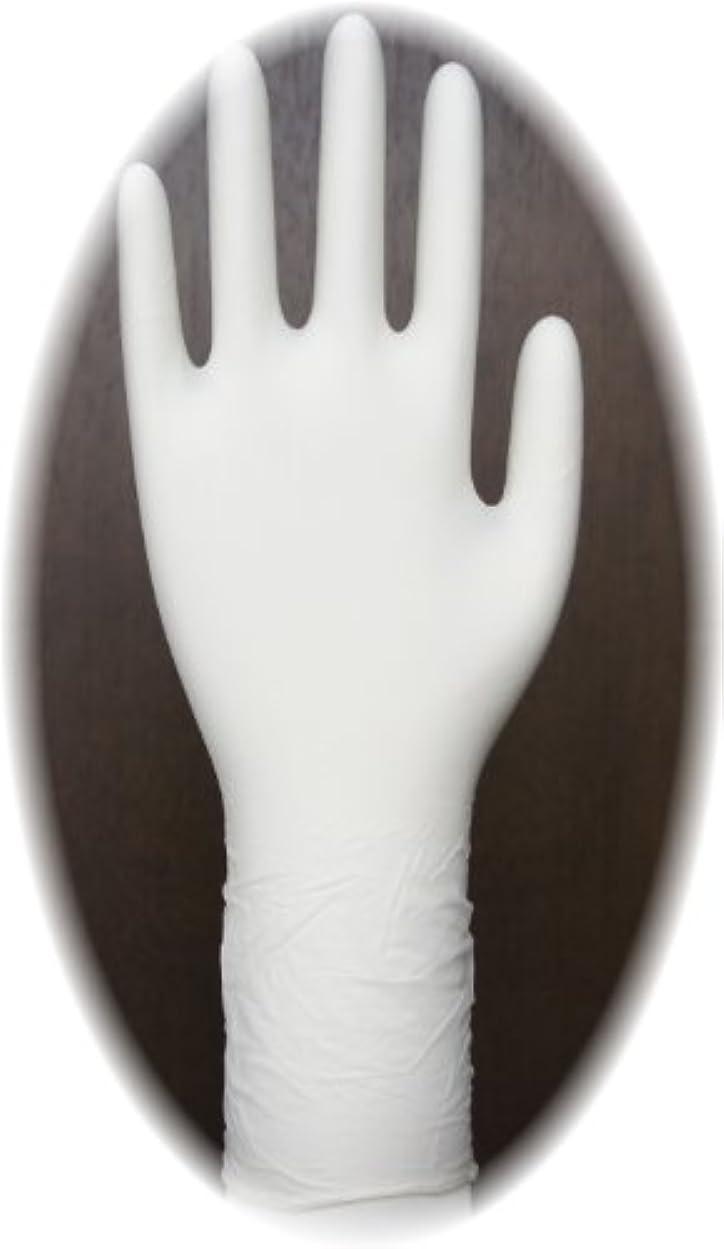 アソシエイトマグサバント三高サプライ ニトリル手袋 クラス100 クリアグリップ ロング(半透明) GN09 100枚入り M