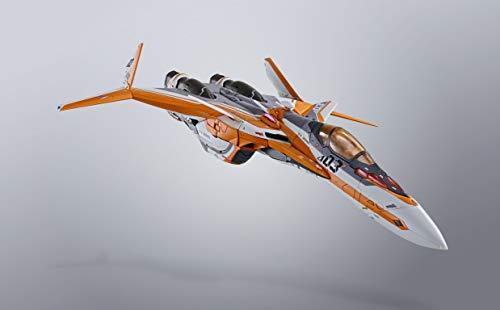 DX超合金 マクロスデルタ VF-31Eジークフリード(チャック・マスタング機) 約180mm ABS&PVC&ダイキャスト製 塗装済み可動フィギュア