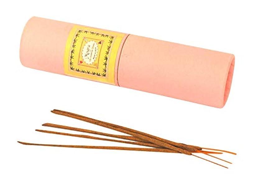 嫉妬平均生まれMy Earth Store Mogra Hand Made Incense Stick (4 cm x 4 cm x 24 cm, Brown)