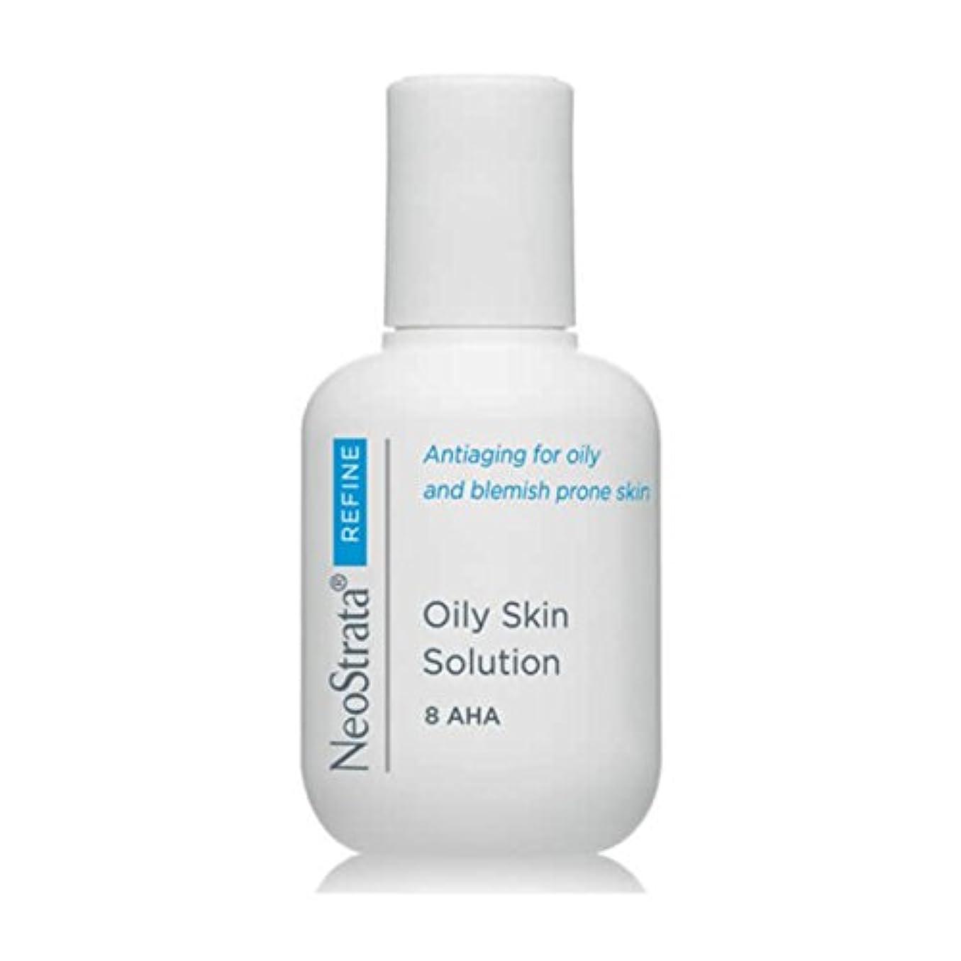 落ち着いたすぐに負担Neostrata Oily Skin Solution Exfoliant Tonic 100ml [並行輸入品]