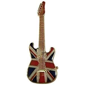 ギター  ユニオンジャック ブリティッシュフラッグ ミニピン  Guitar British Flag Union Jack Mini Pin