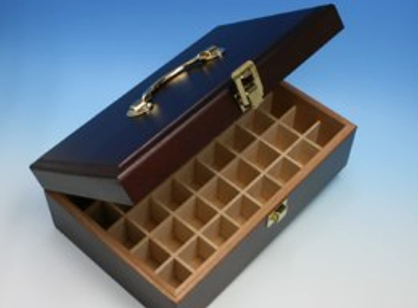後者思い出させる簡単にプラナロム精油専用?オイルボックス(40本収納)