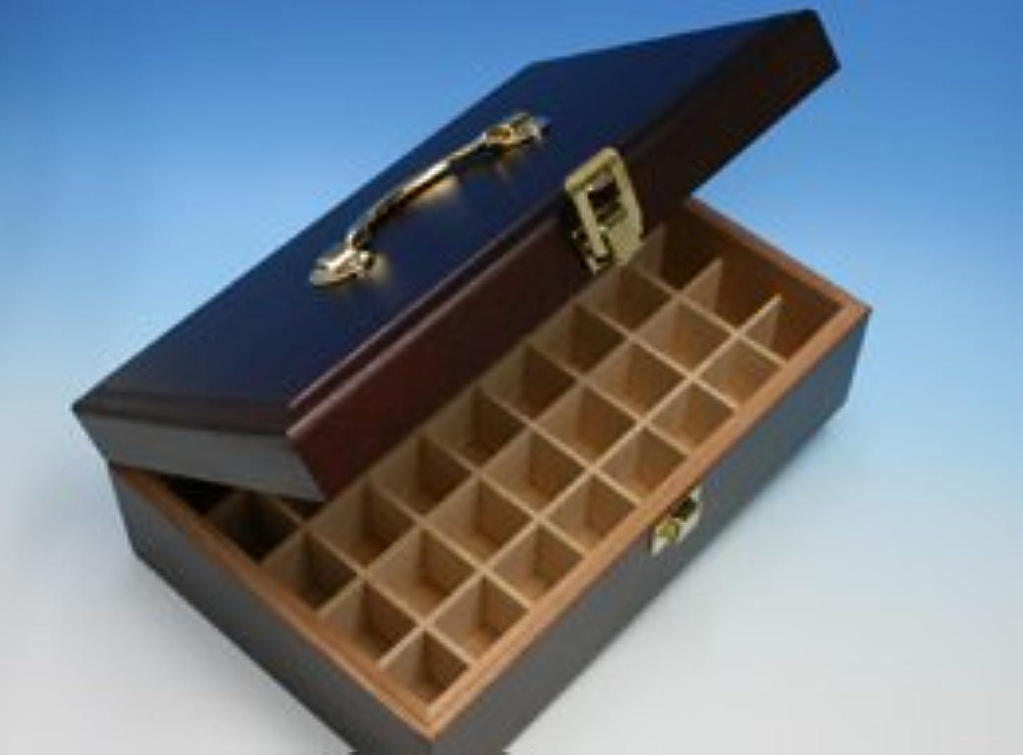 変化する引き潮褐色プラナロム精油専用?オイルボックス(40本収納)
