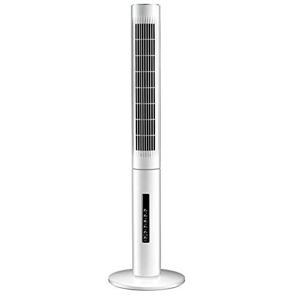 一般化する決定する立法スリム扇風機 タワーファン、取り外し可能および洗えるブレードレスファンタイミングリモコンサイレント家庭用ファン6ファイル風量の安全グリルの床ファン内蔵アロマテラピーボックステーブルファン、112 CM