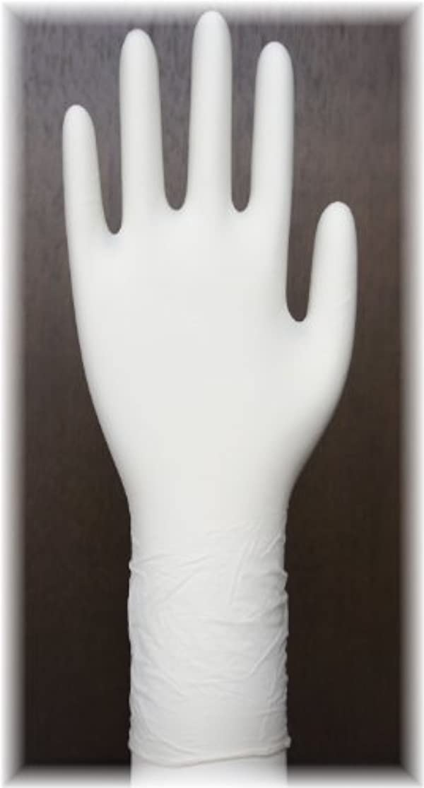 不正通知するヘルシー三高サプライ ニトリル手袋 クラス100 クリアグリップ ロング(半透明) GN09 100枚入り XL