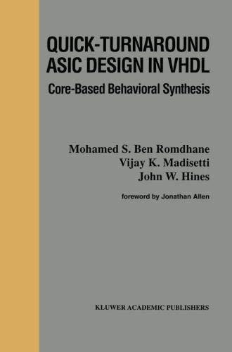 Quick-Turnaround ASIC Design i...