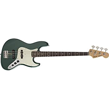 Fender エレキベース MIJ Hybrid 60s Jazz Bass, Sherwood Green Metallic