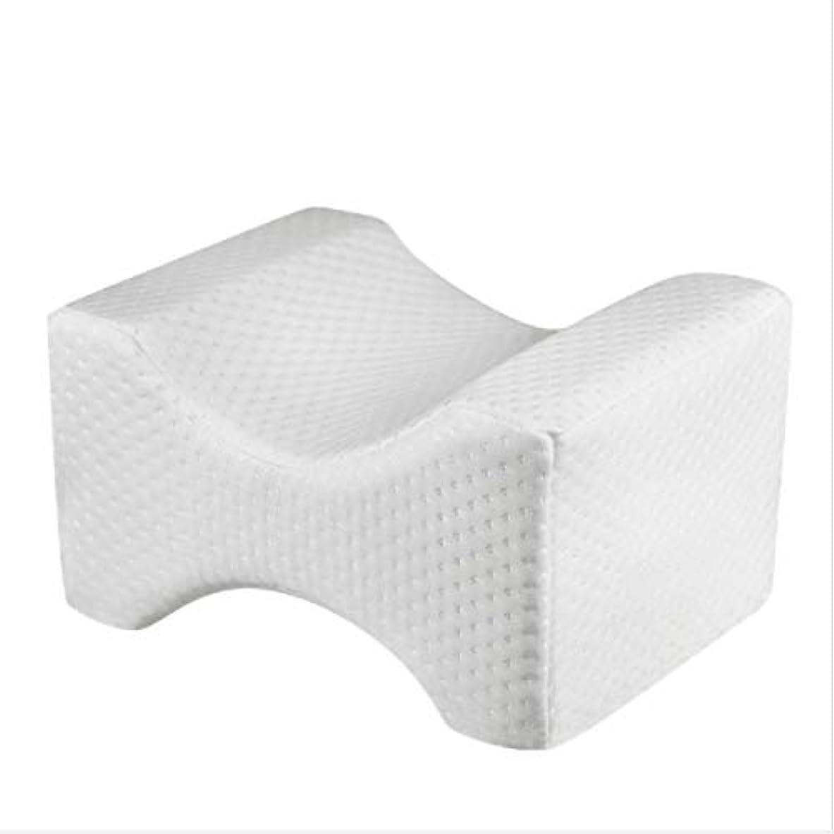 明日小川補充Intercorey Fdrirect膝枕クリップ足低反発ウェッジ遅いリバウンド低反発綿クランプマッサージ枕妊娠中の女性