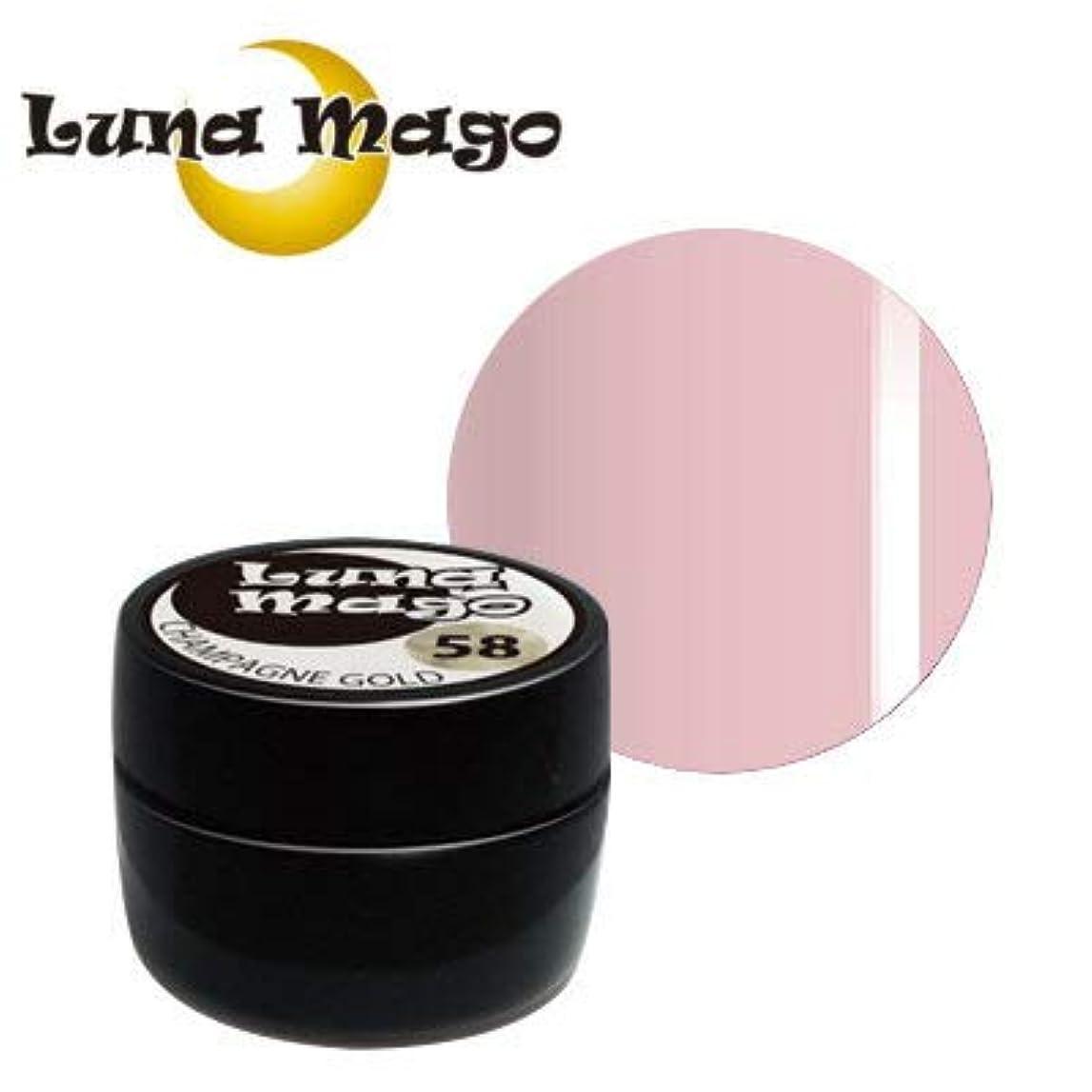 活発セッション更新するLuna Mago カラージェル 5g 012 ピンク
