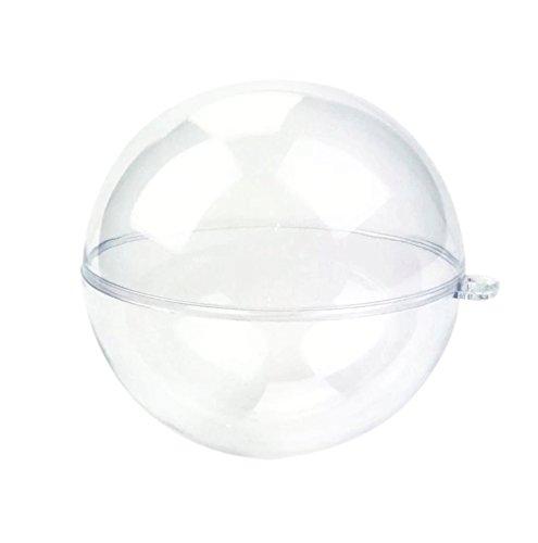 SSORA 透明 中空 ボール アクリア 球 プラスチック ...