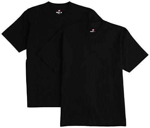 (ヘインズ)Hanes Tシャツ ビーフィー BEEFY 2枚組 H5180-2 090 ブラック L