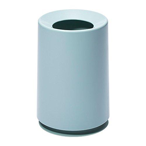 イデアコ ゴミ箱 チューブラー ライトブルー 6L