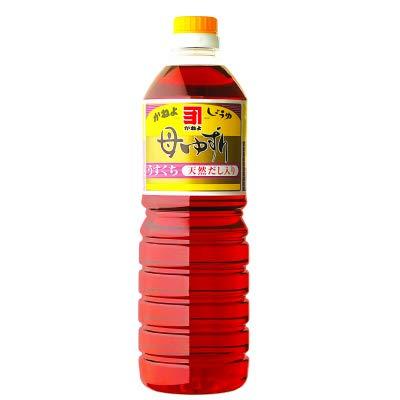 鹿児島のお醤油 かねよ母ゆずり薄口 1リットル