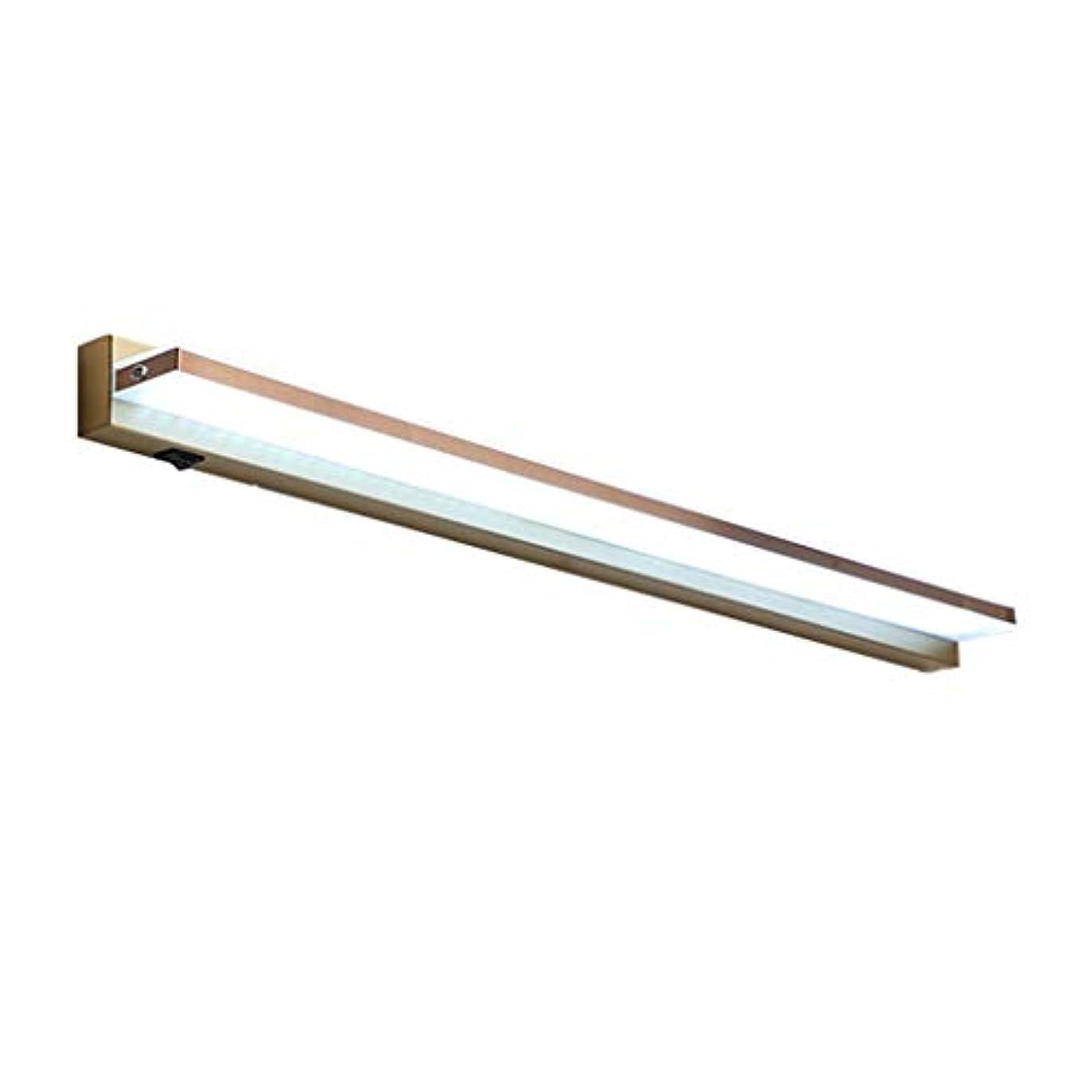 フィドルお金ゴム囲い鏡ミラーライト Ledミラーヘッドライト、浴室キャビネットミラーキャビネットランプレトロミラーライト防水防曇防湿メイクアップミラーランプ [エネルギークラスA ++] (Color : White light, Size : 500mm/8w)