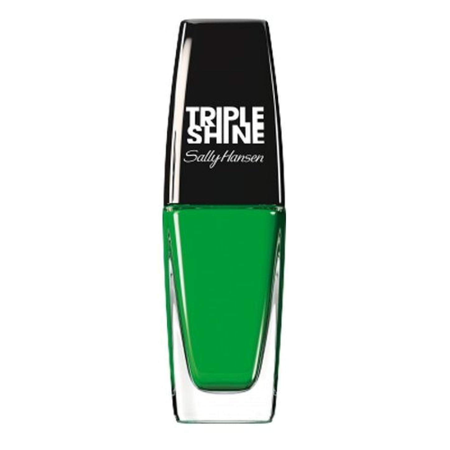 宿侵入ダウンタウン(3 Pack) SALLY HANSEN Triple Shine Nail Polish - Kelp Out (並行輸入品)
