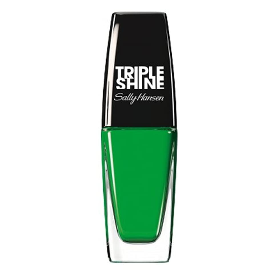 までマントル予約(3 Pack) SALLY HANSEN Triple Shine Nail Polish - Kelp Out (並行輸入品)