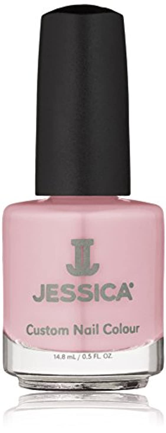 月アッパー負荷Jessica Nail Lacquer - Pink Daisy - 15ml/0.5oz