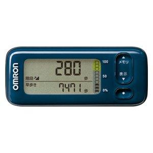 OMRON HJA-404-DB ダークブルー カロリスキャン [活動量計] 健康器具/医療機器